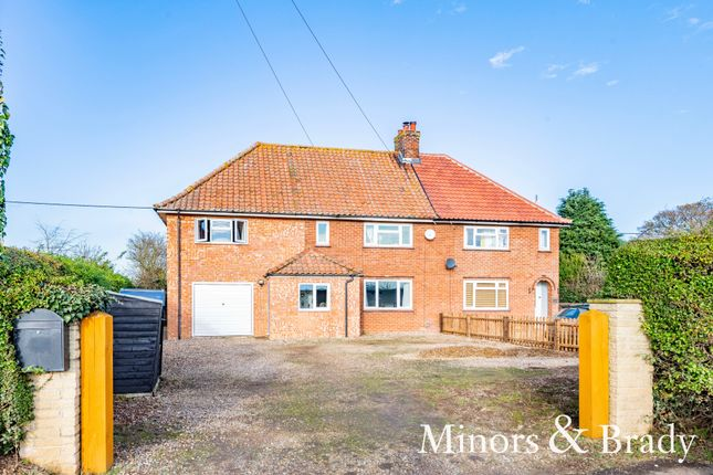 4 bed semi-detached house for sale in Town Green, Alby, Norwich NR11