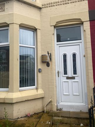 Thumbnail Terraced house to rent in Clifton Road East, Liverpool