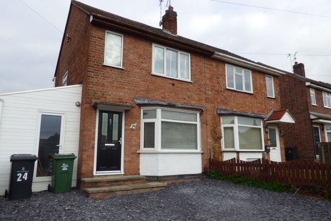 Thumbnail Semi-detached house for sale in Alexandra Street, Thurmaston