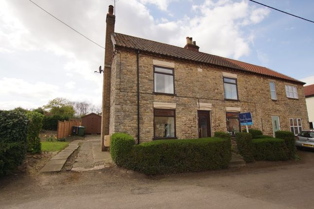 Thumbnail Semi-detached house for sale in Silver Street, Waddingham, Gainsborough