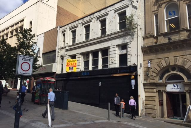 Retail premises to let in 4/6 Darley Street, Bradford