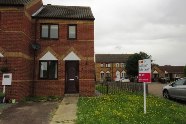 Thumbnail Terraced house to rent in Rudkin Drive, Sleaford