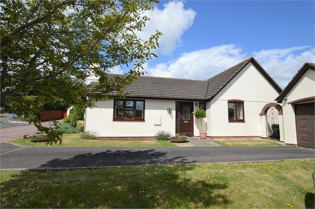 Thumbnail Detached bungalow for sale in Abbotsridge Drive, East Ogwell, Newton Abbot, Devon.