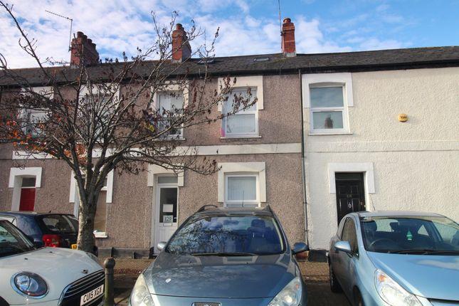 Thumbnail Terraced house for sale in Rhymney Street, Cathays, Cardiff