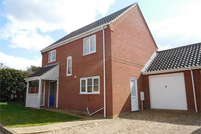 Thumbnail Link-detached house for sale in Yareview Close, Reedham, Norwich