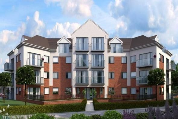 Thumbnail Flat for sale in Flat 16 Windlass House, Palgrave Road, Bedford