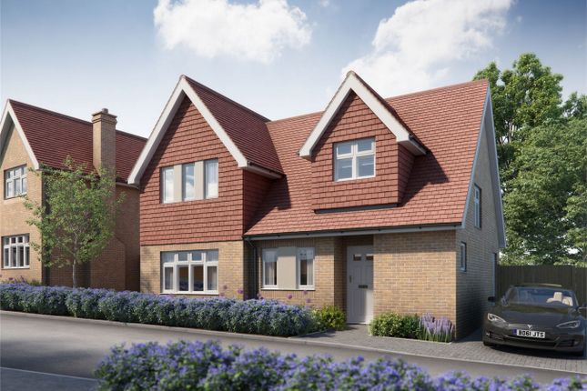 Thumbnail Detached house for sale in Greenview Grove, Holyfield Road, Waltham Abbey, Essex
