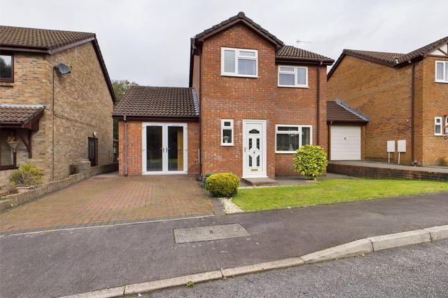 Thumbnail Detached house for sale in The Walk, Abernant, Aberdare, Rhondda Cynon Taff