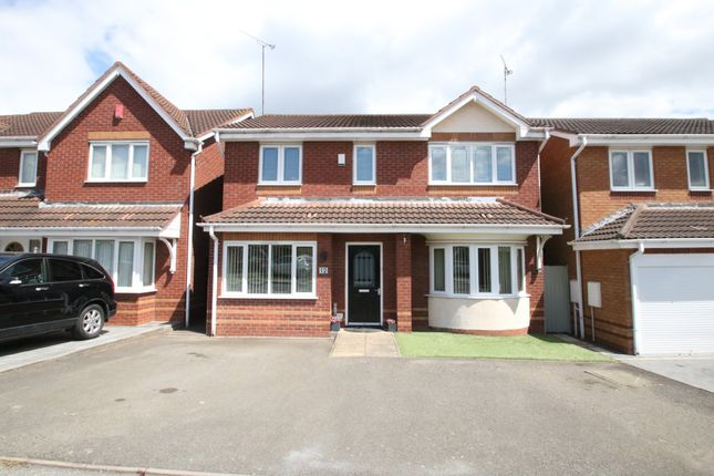 Thumbnail Detached house for sale in Campbell Close, Galley Common, Nuneaton