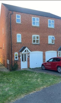 Thumbnail Town house to rent in Abbot Close, Burton Upon Trent