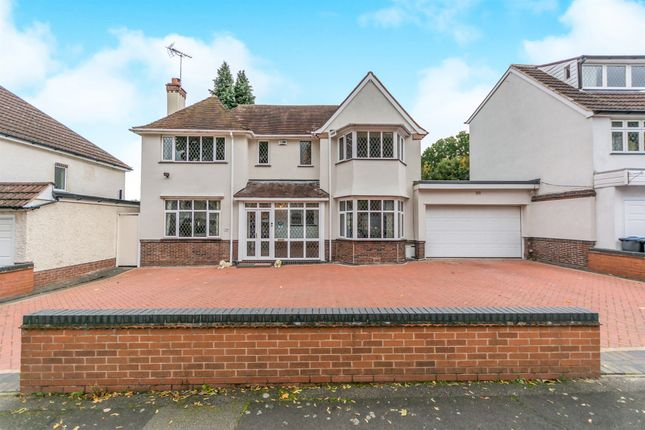 Thumbnail Detached house for sale in Etwall Road, Hall Green, Birmingham
