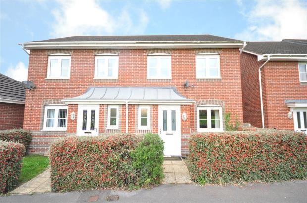 Thumbnail Semi-detached house for sale in Burghfield Walk, Basingstoke, Hampshire