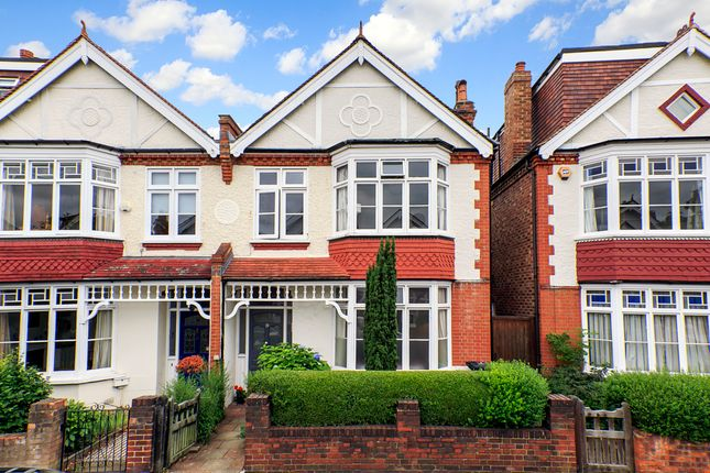 Thumbnail Semi-detached house for sale in St. Albans Avenue, London
