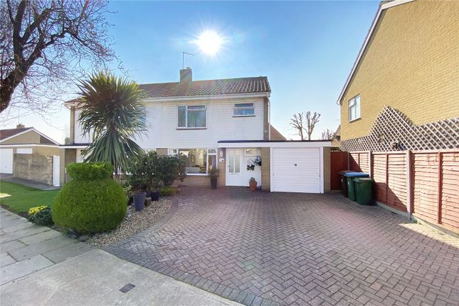Thumbnail Semi-detached house for sale in Holly Drive, Littlehampton, West Sussex