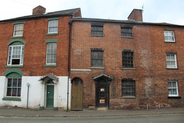 4 bed terraced house for sale in Upper Church Street, Oswestry SY11