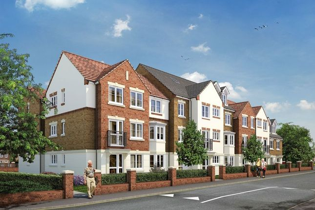 Thumbnail Property for sale in Ash Lodge, Churchfield Road, Walton-On-Thames, Surrey