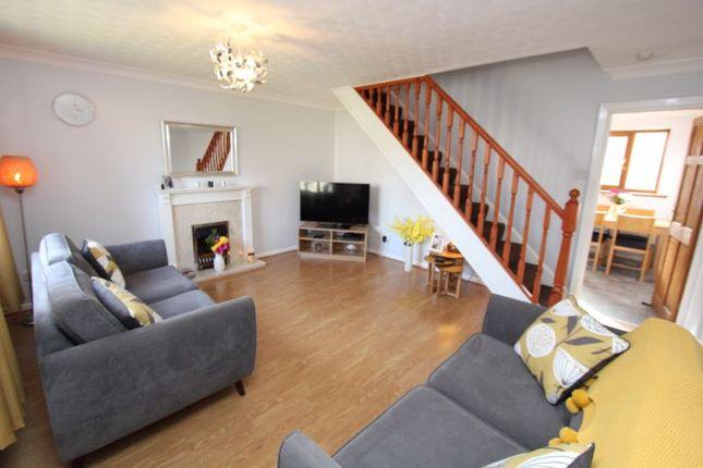 Living Room of Fonmon Park Road, Rhoose, Barry CF62