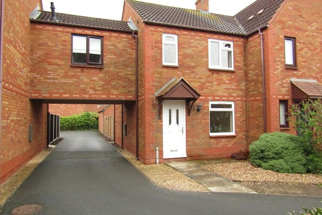 Thumbnail Terraced house to rent in Byron Close, Tewkesbury