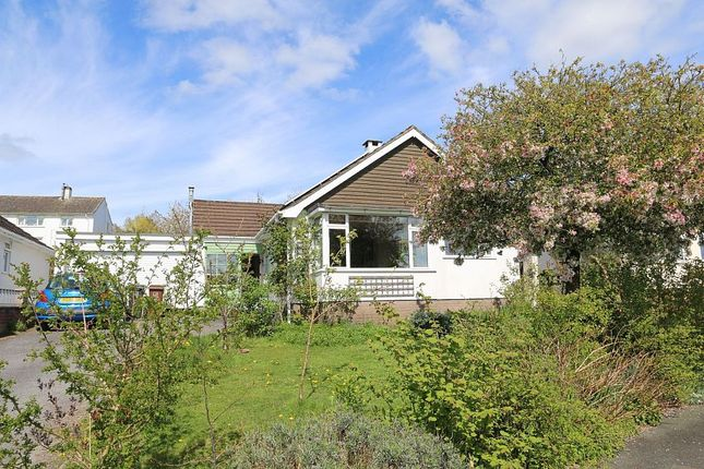 Thumbnail Detached bungalow for sale in Woodland Close, Totnes, Devon