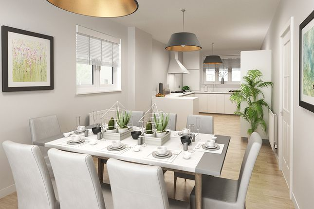 """Thumbnail 5 bed detached house for sale in """"The Yew"""" at Limousin Avenue, Whitehouse, Milton Keynes"""