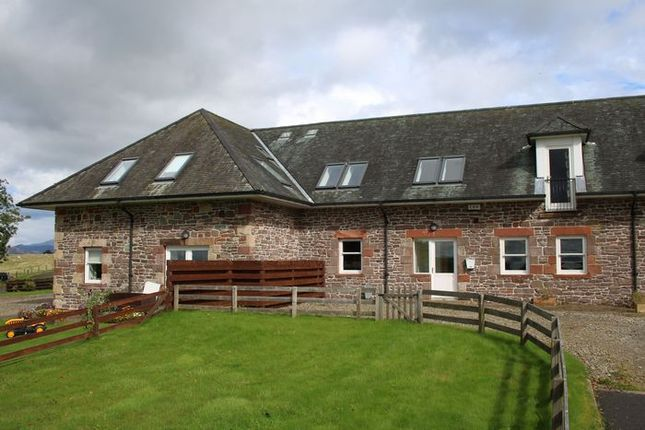 Terraced house for sale in The Millhouse, Tombrake Farm Steadings, Balfron