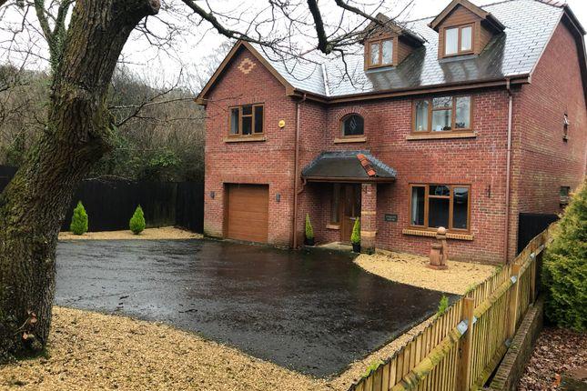 Thumbnail Detached house for sale in Llwyn Llanc Lane, Crynant