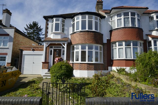 Thumbnail Semi-detached house to rent in Ringwood Way, Winchmore Hill