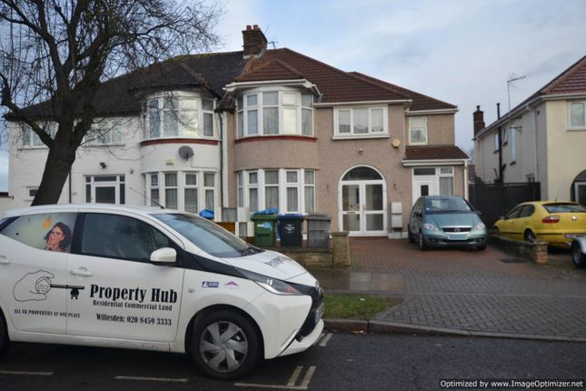 Thumbnail Semi-detached house to rent in East Lane, Wembley