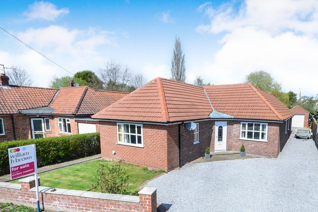 Thumbnail Detached bungalow for sale in The Avenue, Haxby, York
