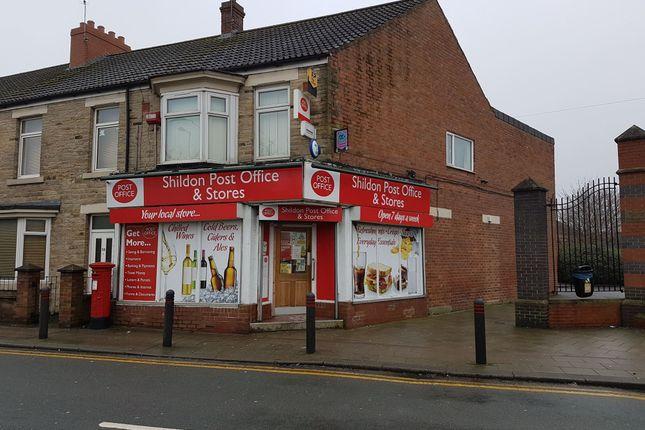 Thumbnail Retail premises for sale in Redworth Road, Shildon