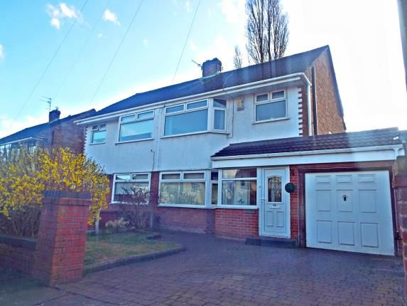 Thumbnail Semi-detached house for sale in Grangeside, Woolton, Liverpool, Merseyside