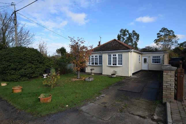3 bed detached bungalow for sale in Mountview Crescent, St. Lawrence, Southminster, Essex CM0