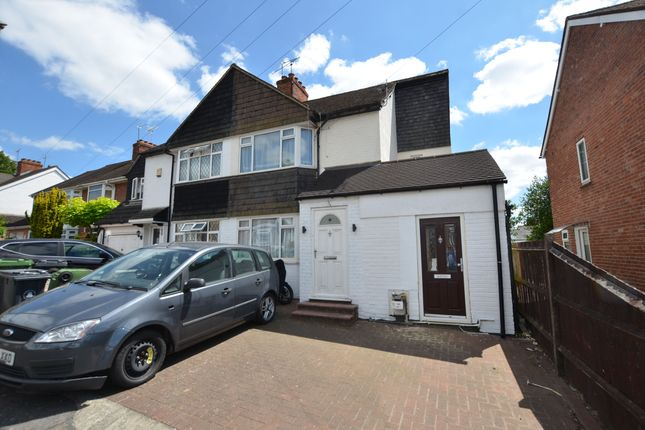 Thumbnail Semi-detached house to rent in Harcourt Road, Camberley