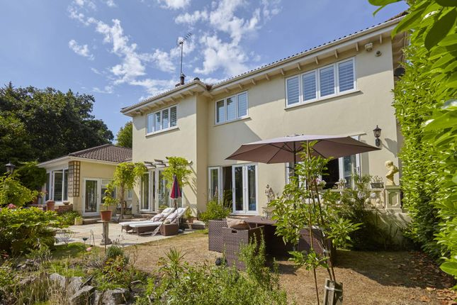 Thumbnail Detached house for sale in Dalkeith Road, Branksome Park