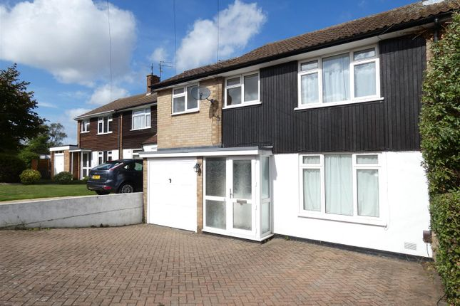 Thumbnail Semi-detached house to rent in Langdale Close, Dunstable