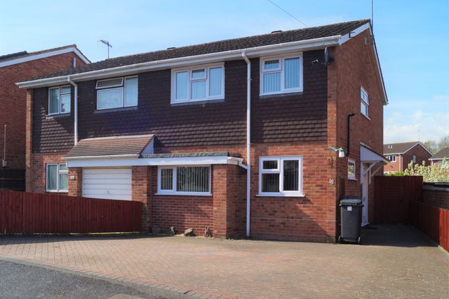 Thumbnail Semi-detached house to rent in St. Marks Close, Worcester