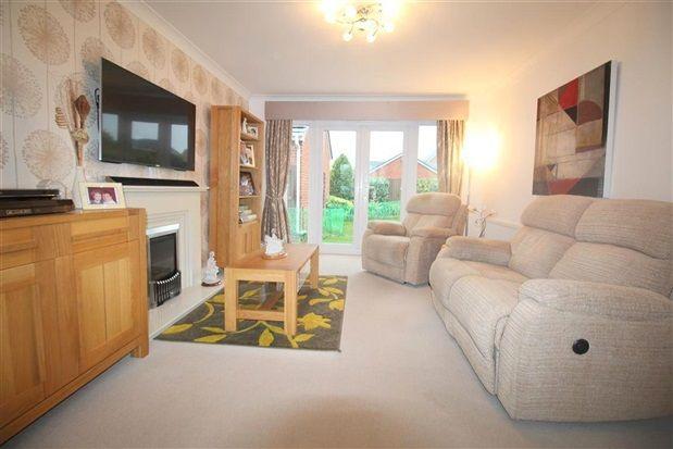 Living Room of Croston Road, Farington Moss, Leyland PR26