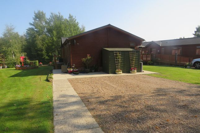 Thumbnail Lodge for sale in Woodcock Lane, Burton Waters, Lincoln