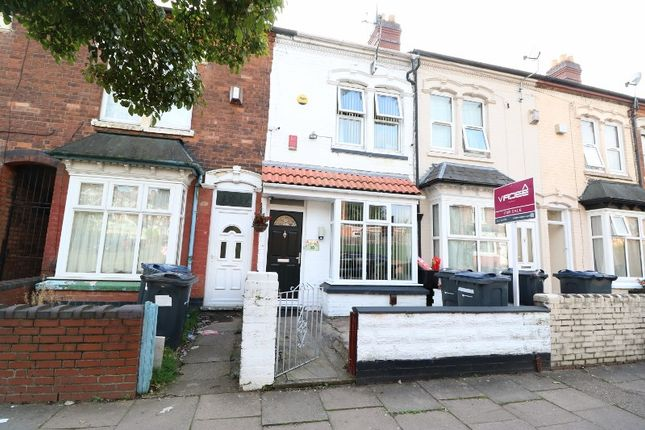 Thumbnail Terraced house for sale in Belmont Road, Handsworth