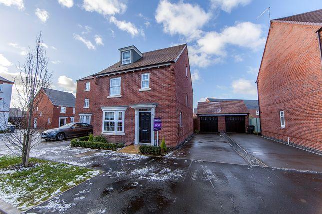 Thumbnail Detached house for sale in Templar Road, Ashby-De-La-Zouch