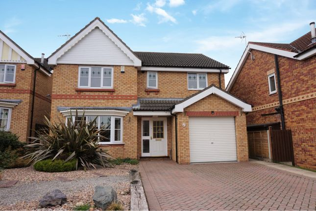 Thumbnail Detached house for sale in Wisteria Drive, Healing, Grimsby