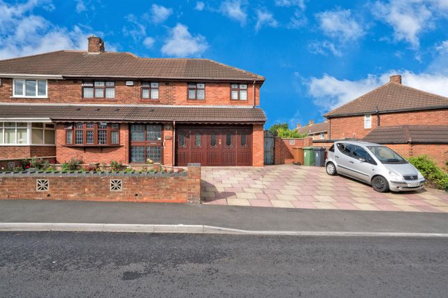 Thumbnail Semi-detached house for sale in Spring Lane, Willenhall
