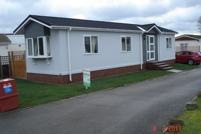 Thumbnail Mobile/park home for sale in Newton Park Homes, Newton St. Faith, Norwich