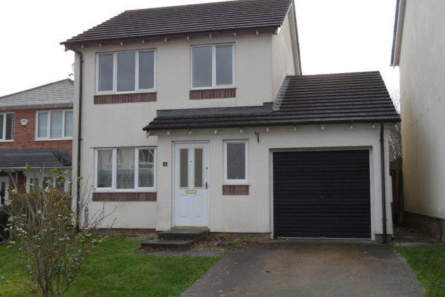 Thumbnail Detached house to rent in Pant Y Dryw, Bridgend