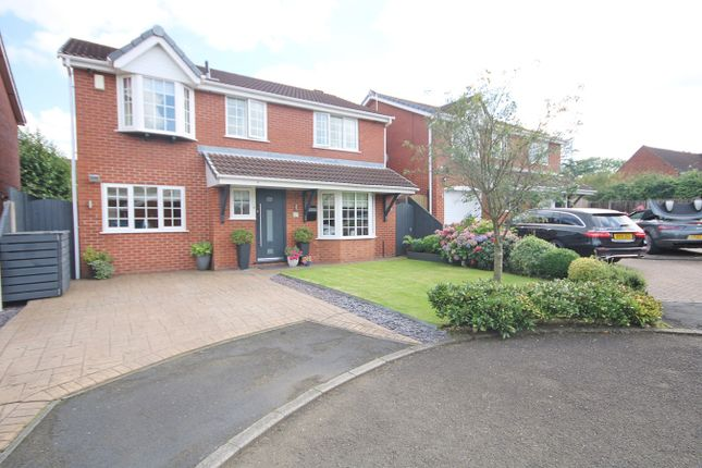 Thumbnail Detached house for sale in Oban Grove, Fearnhead, Warrington