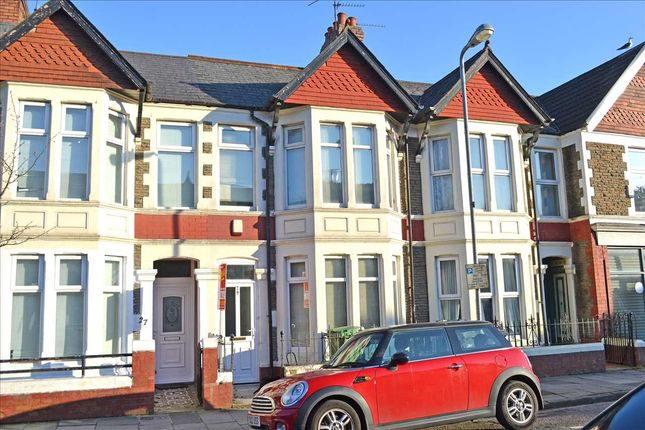 Thumbnail Terraced house for sale in Canada Road, Heath/Gabalfa, Cardiff