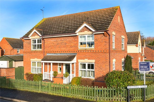 Thumbnail Detached house for sale in Halliwell Close, Newark