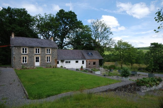 Thumbnail Country house for sale in Llanwrda, Carmarthenshire, West Wales