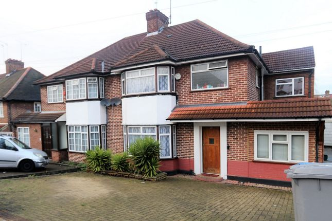Thumbnail Terraced house to rent in West Hill, Wembley Park