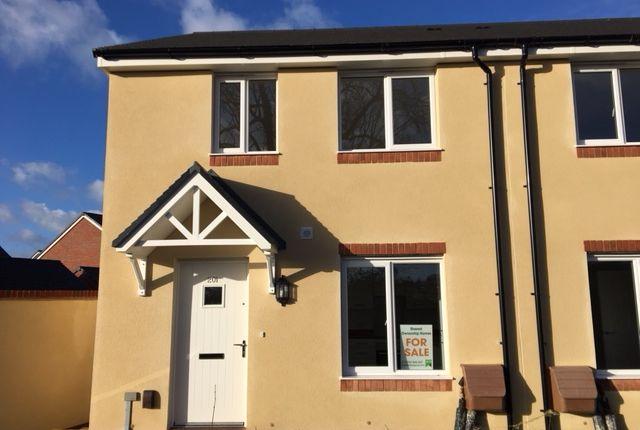 Thumbnail Semi-detached house for sale in Plot 26 - Tillhouse Road, Cranbrook, Devon
